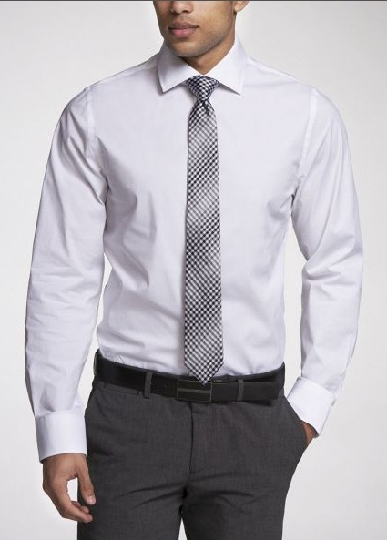 Bichromatic tie matching shirt tie stripe and pants tie for Matching ties with shirts