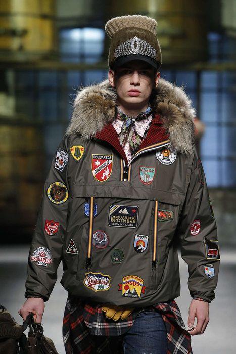 Dsquared2, Autunno/Inverno 2017, Milano, Menswear