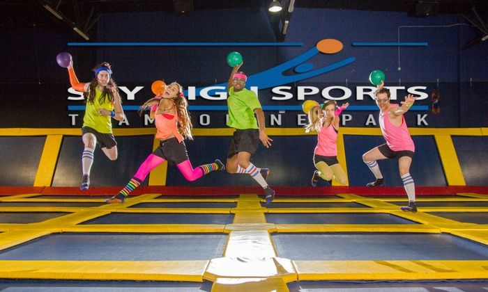 Sky High Sports - Sky High Sports - Houston: Two Hours of Jump Time at Sky High Sports (45% Off)
