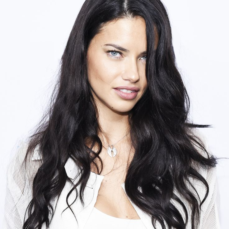 The $2 Secret Behind Adriana Lima's Impossibly Glossy Hair via @ByrdieBeauty