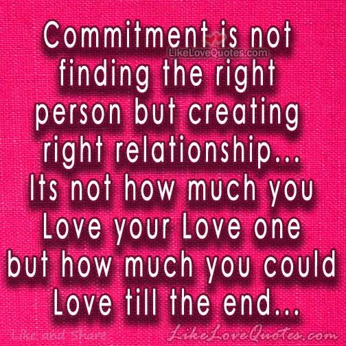 Dating someone with commitment issues
