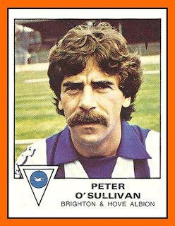 #Figuritas Peter O'Sullivan - Brighton & Hove Albion FC 1980