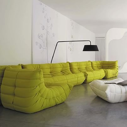 17 best images about interior design on pinterest pastel eames and living - Togo ligne roset couleurs ...