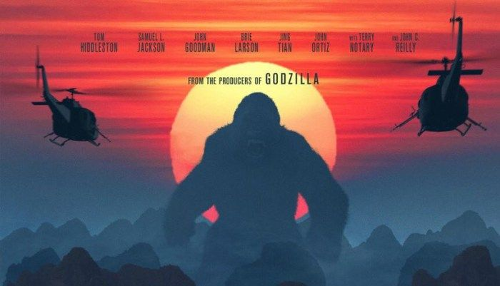 Teaser de 'Kong: A Ilha da Caveira' mostra King Kong destruindo helicóptero