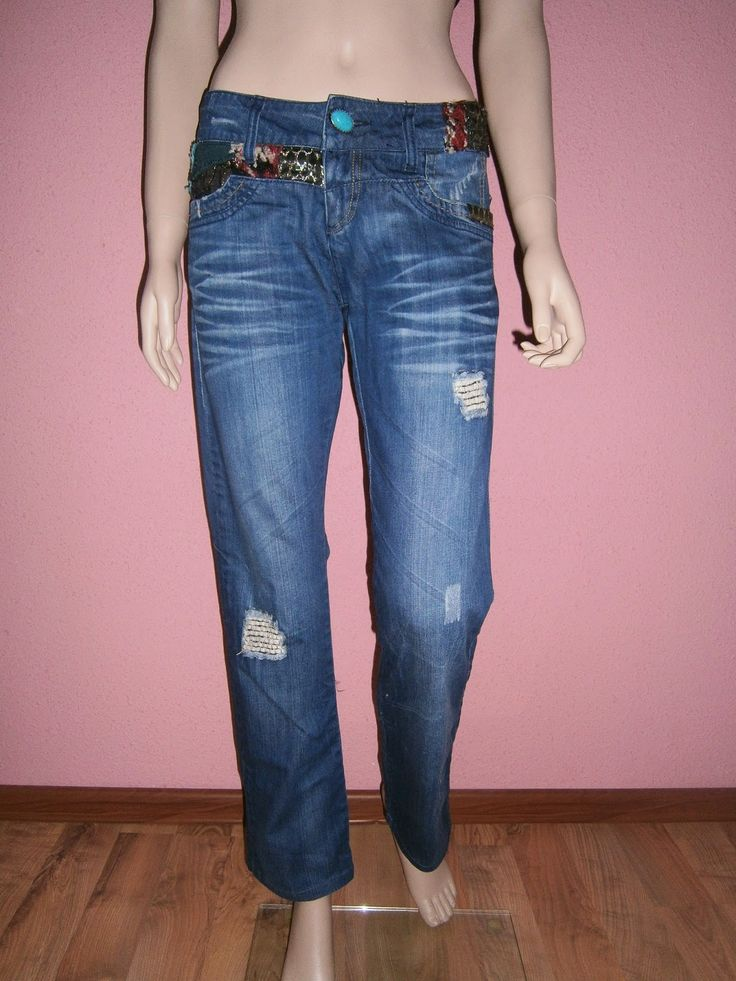 """VINTAGE DRESS-UP""                                                 HAINE DE FIRMA, HAINE DE DAMA: Desigual jeans"