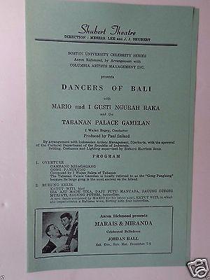 Dancers Of Bali With Mario And I Gusti Ngurah Raka And Tabanan Palace Gamelan