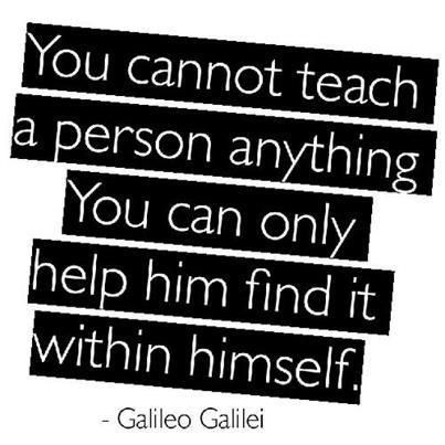 Galileo was a mathematician and artist who understood the value of creativity and self-discovery. He was actually training as a doctor when his fascination with his ultimate fields turned him away from a much more (financially) lucrative career.