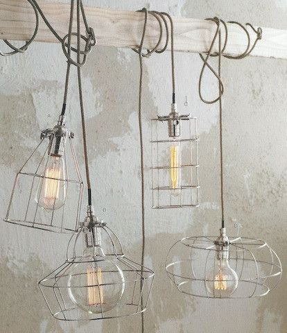 Roost Factory Cage Lamps