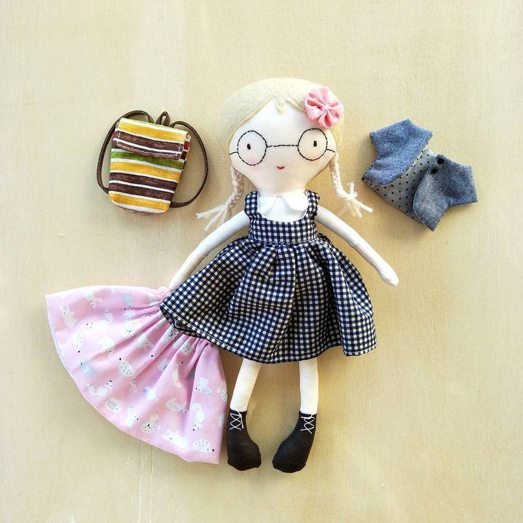 #doll #dolls #娃娃 #布娃娃 #人形 #布人形 #bambola #poupée #인형 #muñeca #jeeoliver #jeeoliverdoll
