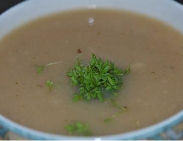 Recept rammenas soep. Heerlijk pittig soepje voor de winteravonden.