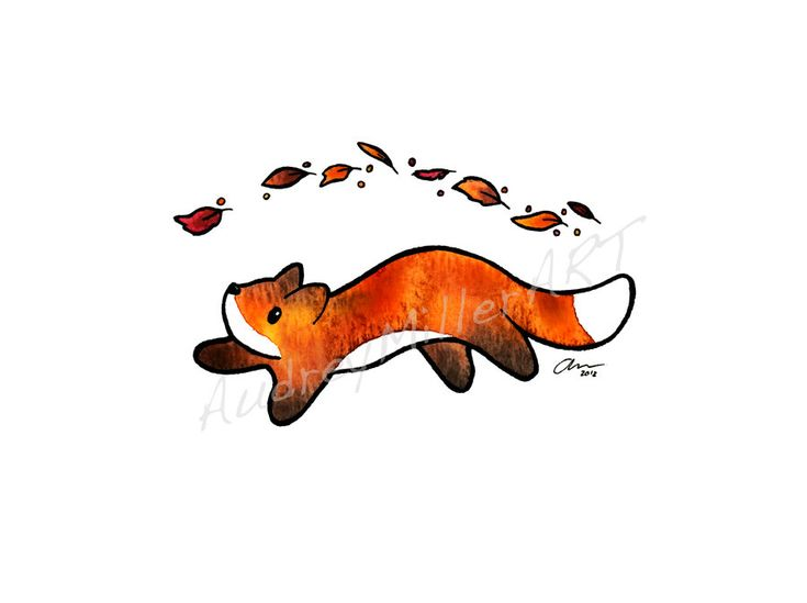 """Fox Trot"" was originally done in gouache with ink detailing. If you are interested in purchasing this image as a print, check out my etsy page at All artwork is original by AudreyMillerART. All wa..."