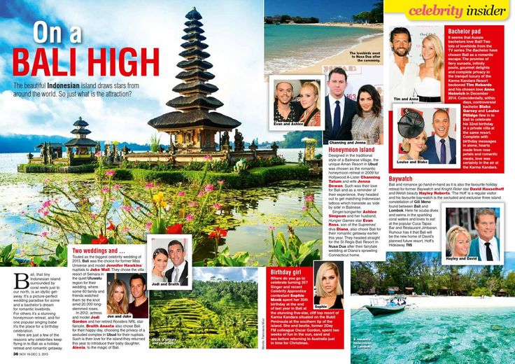 TV Soap magazine -  On a Bali High