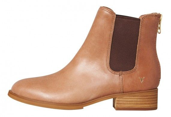 Windsor Smith - Lusterr Leather Boot Tan