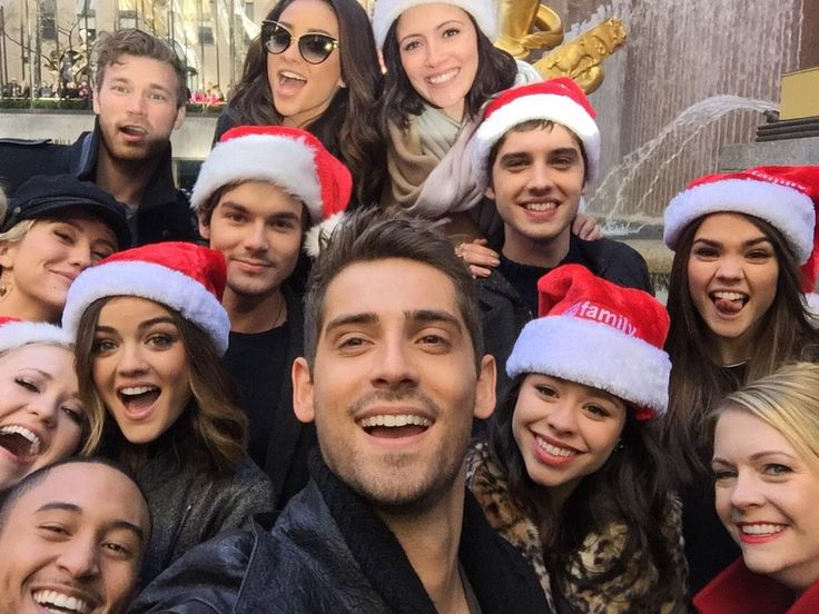 Happy Holidays from some of your favorite ABC Family stars!!!