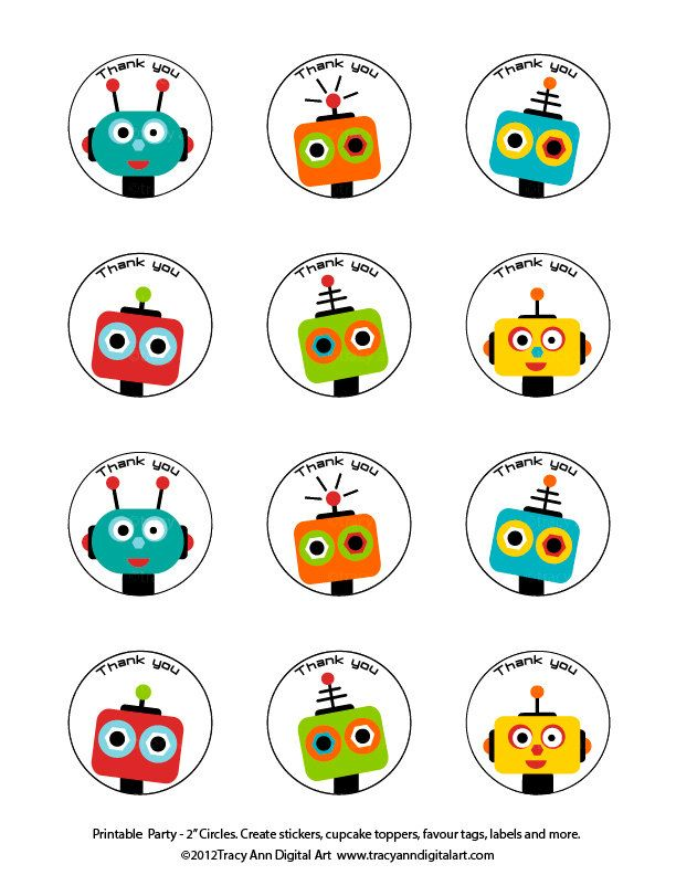 Printable stickers, tags