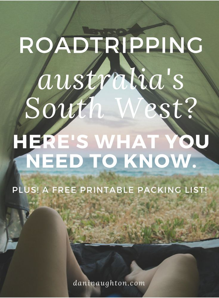 Australia's South West | South West Australia | Western Australia | Road trip | How to plan a road trip | Australian road trip | Road tripping Australia's South West | Road trip packing list