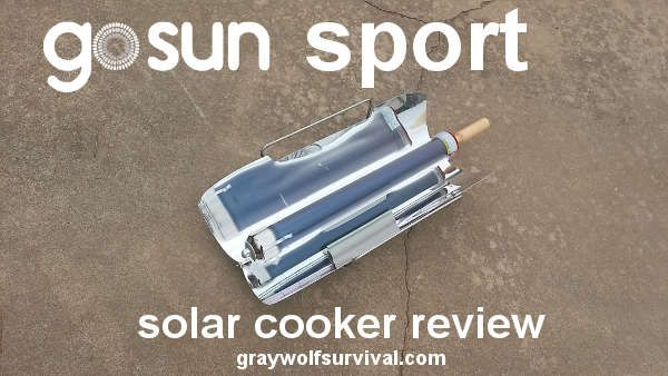 In an #emergency, you can't always rely on having fuel to cook. #Solar #cookers allow you to cook using just the sun, but not all solar cookers are created equal. Here's what we think of the GoSun Sport.