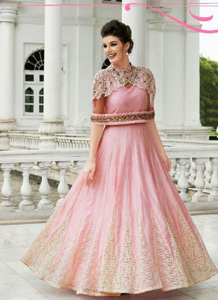c37fd1632df Salwar Suit Bollywood Kameez Dress Pakistani Designer Indian Anarkali New  Ethnic  KriyaCreation  Designer