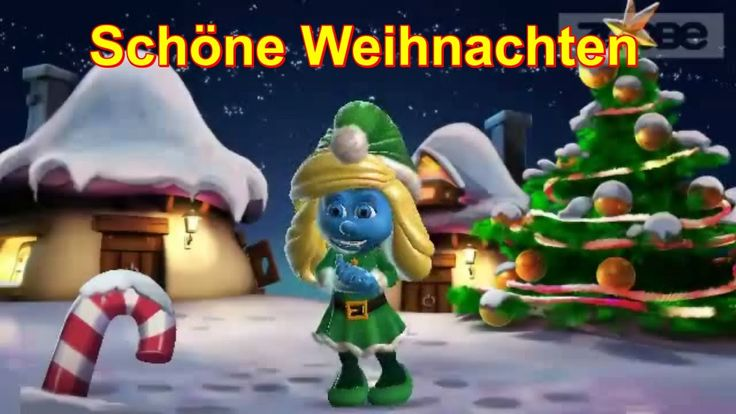 Weihnachten, Weihnachtszeit, Weihnachtsfest, Weihnacht, Christmas mit ♥Schlumpf Schlumpfine ♥ Zoobe