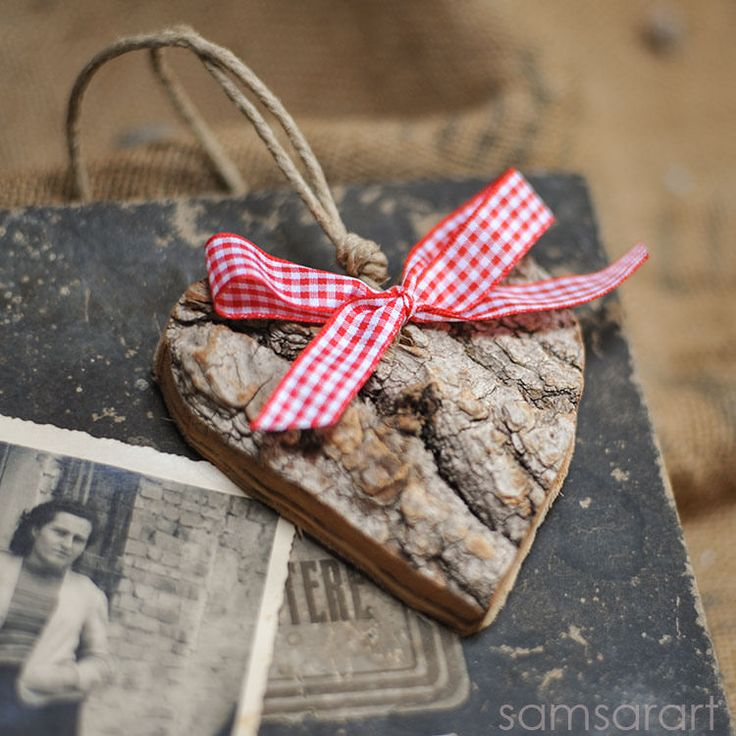 Cuore di corteccia  Tree bark heart