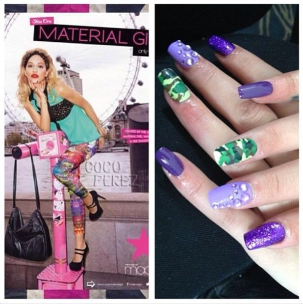 41 best Celebrities Nail it! images on Pinterest | Celebrity nails ...
