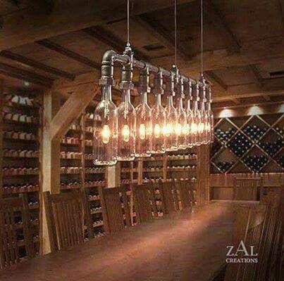 Sublime Lustre pour cave à vins... ...