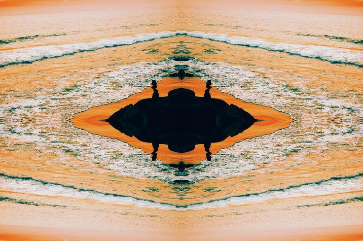 If mars had an ocean..  Art by Adida Fallen Angel