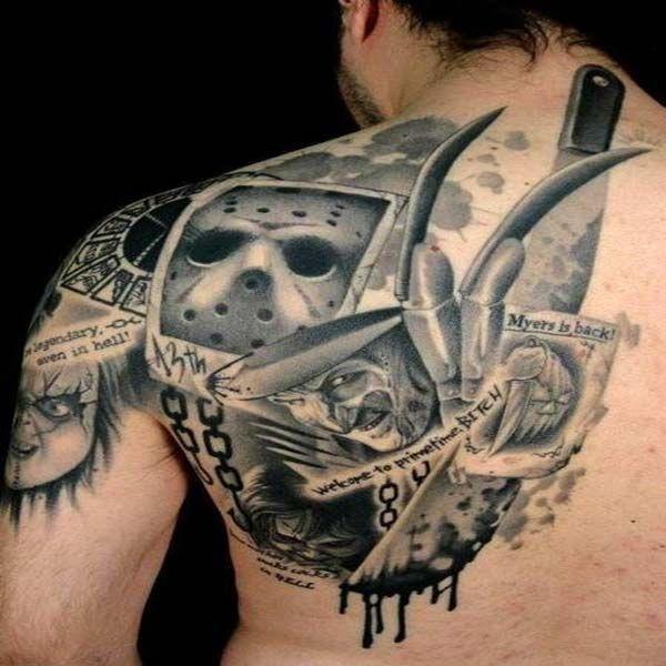 Horror Movie Tattoos Tattoos: 13 Best Movie Tattoos Images On Pinterest
