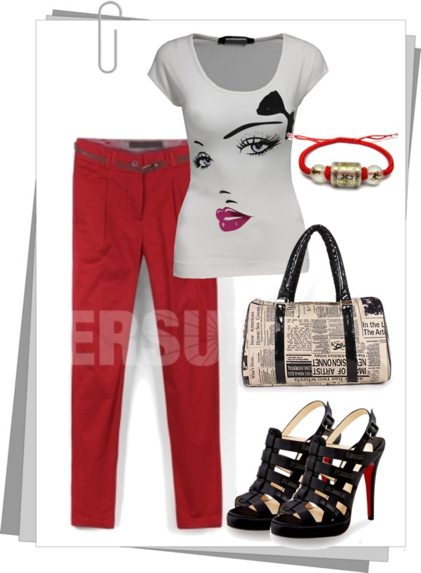 """""""T-Shirt Crazy"""" by persunmall ❤ liked on Polyvore"""