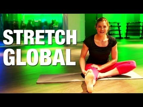 Fitness Master Class - Stretching Global - YouTube