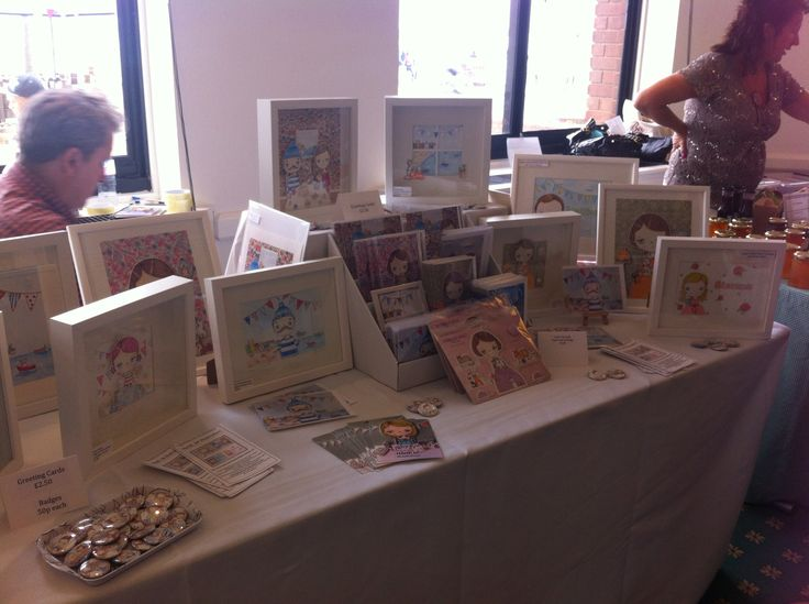 how to set up a craft stall