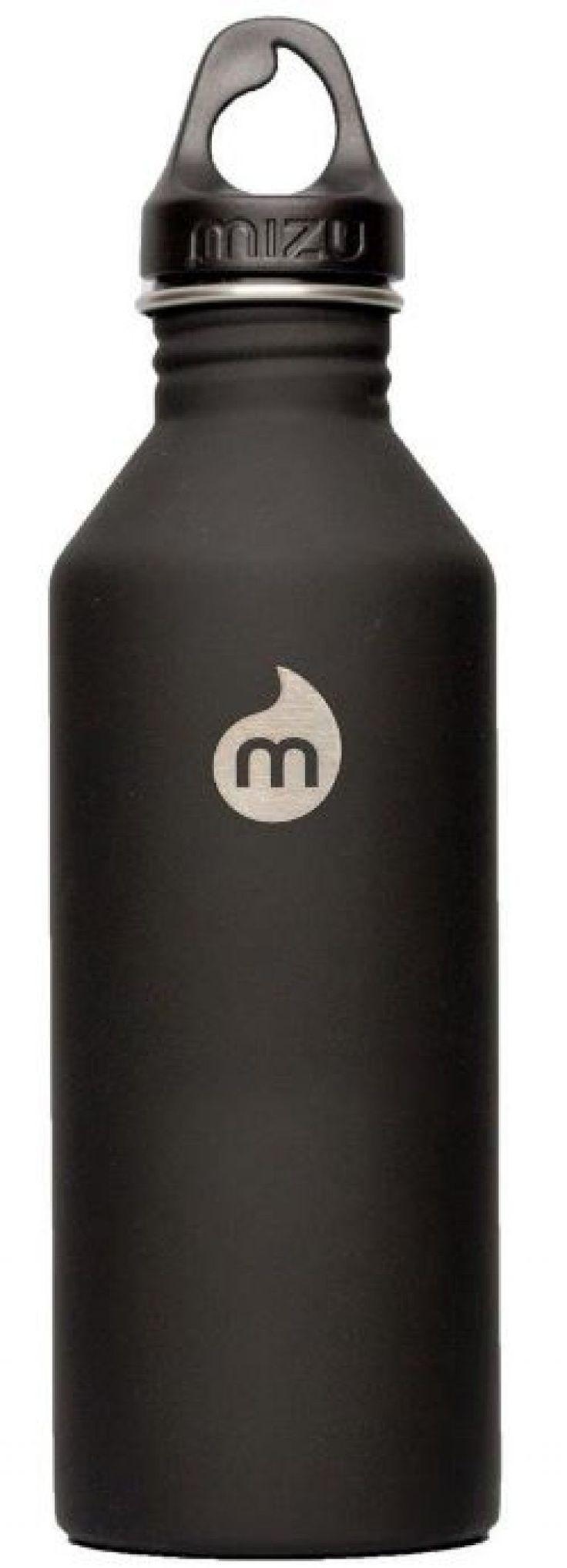 MIZU M8 Water Bottle Soft Touch Black