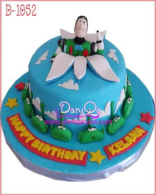 DaniQa Cake and Snack: Kue Ulang Tahun Toy Story