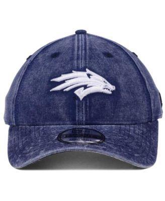 New Era Nevada Wolf Pack Italian Wash 9TWENTY Cap - Blue Adjustable