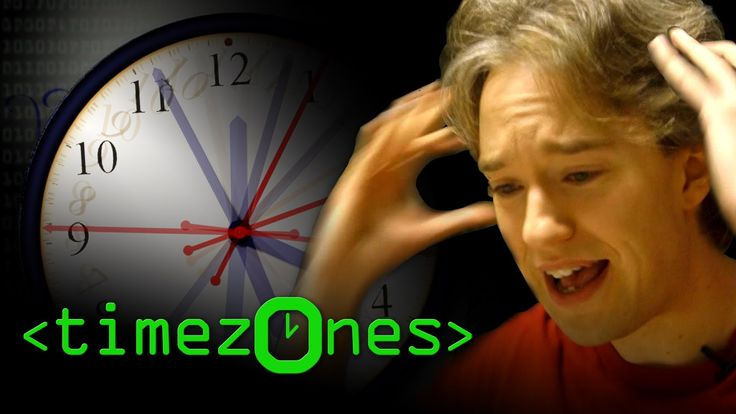 """The Problem with Time & Timezones - Computerphile """"A web app that works out how many seconds ago something happened. How hard can coding that be? Tom Scott explains how time twists and turns like a twisty-turny thing. It's not to be trifled with!"""""""