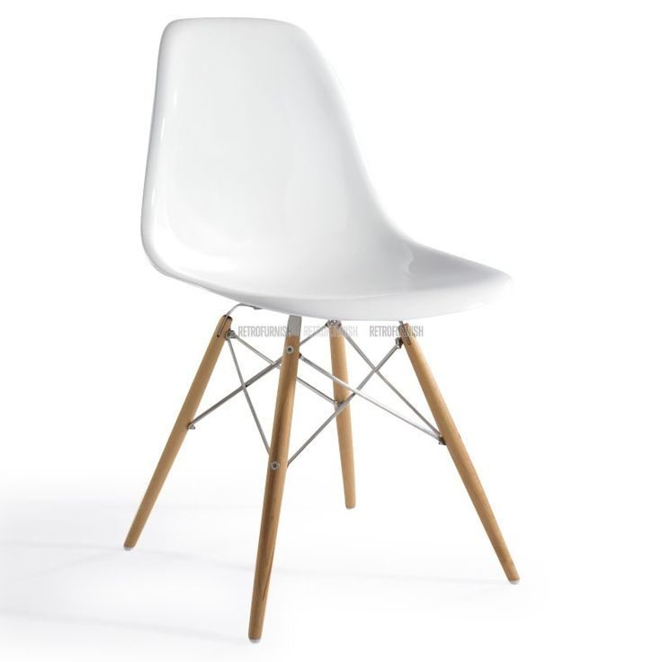 Eames plastic side chair dsw eames dsw replica charles for Chaise eames dsw