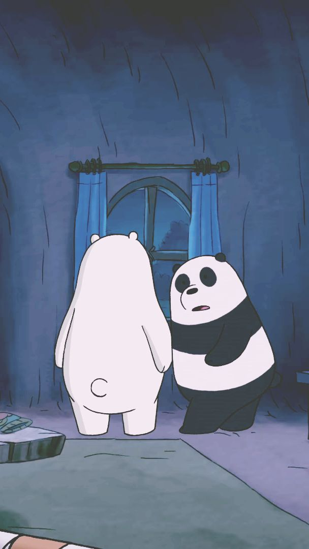 Pin By Junethatsit On We Bare Bears Beruang Kutub Hewan