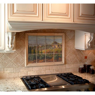 tile murals for kitchen backsplash 93 best images about backsplash ideas on stove 26027