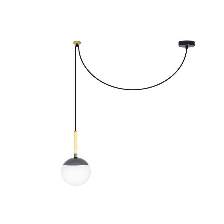 Lámpara colgante diseño moderno madera #iluminacion #decoracion #lamparas