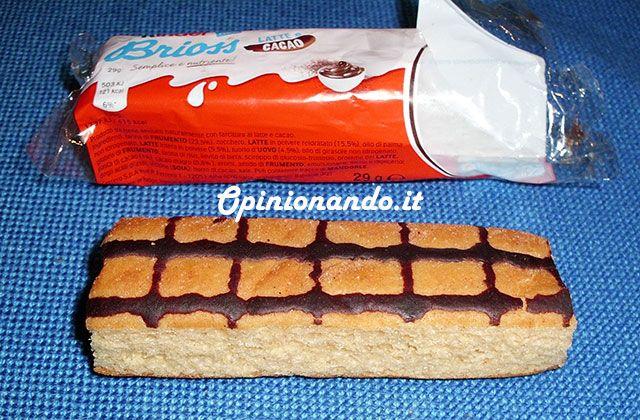 Kinder Brioss Latte e Cacao Aperta #recensione #Opinionando