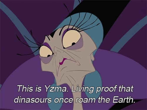 Yzma - I love the Emperor's New Groove