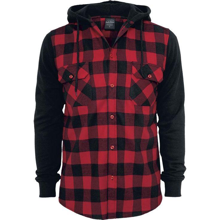 Urban Classics Flanellskjorta »Flanellskjorta med luva« | Köp i EMP | Mer Casual Flanellskjortor finns online ✓ Oslagbara priser!