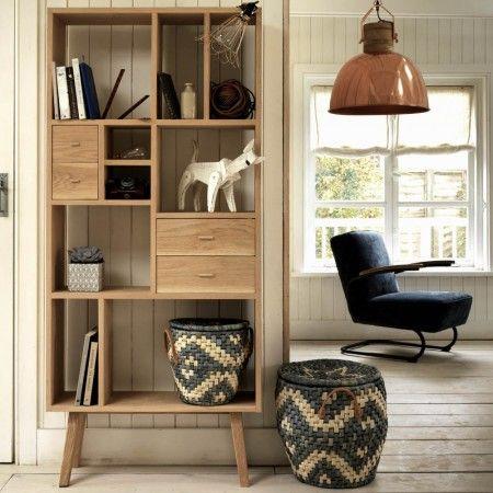 House Wishlist - Living Room, Oak Shelving Unit, grahamandgreen.co.uk, 595£
