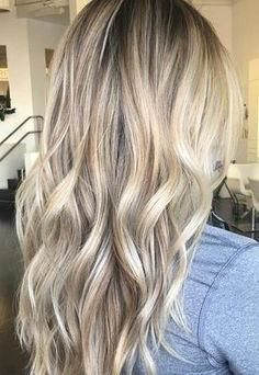 Flat Tip Pre-bonded Fusion Hair Extensions (#18 Ash Blonde with #613 Bleach Blonde)