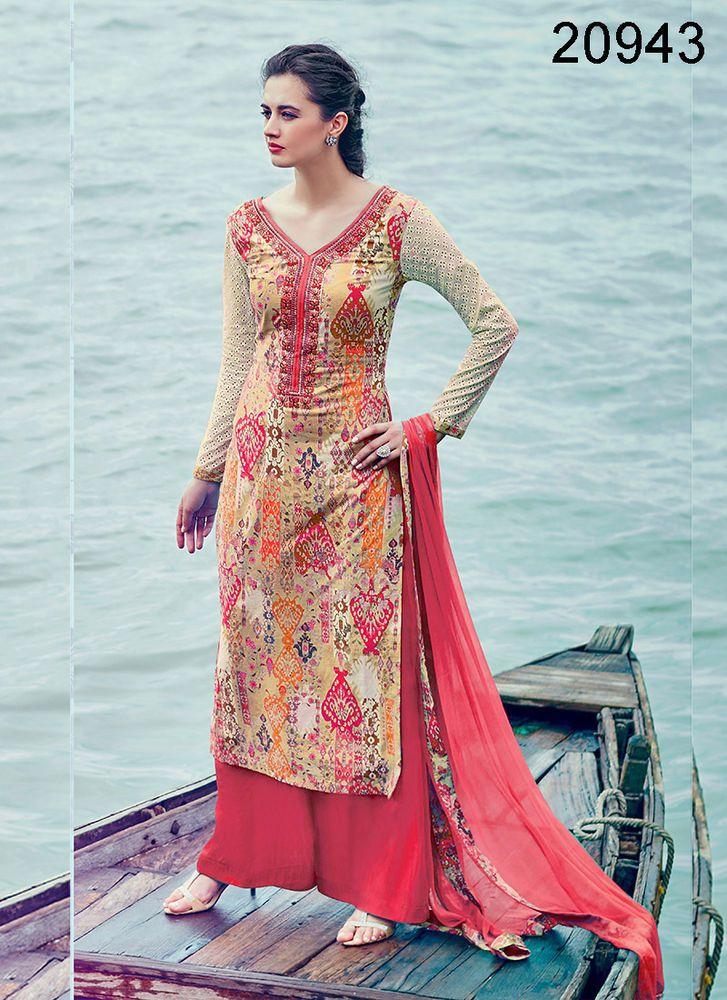 New Designer Bollywood Salwar Suit Dress Kameez Ethnic Indian Anarkali Pakistani