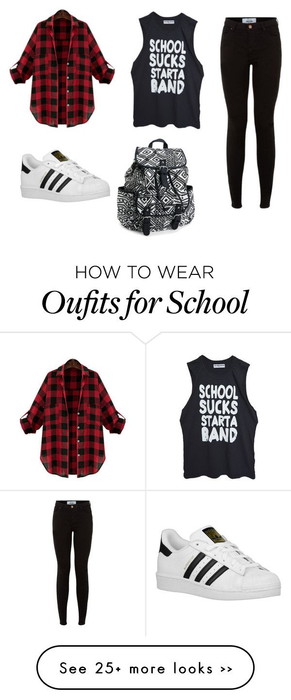 """""""Cool for school"""" by pametna-devojka on Polyvore featuring adidas Originals and Aéropostale"""