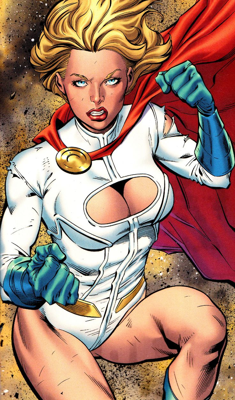 Something Power girl dc comics similar
