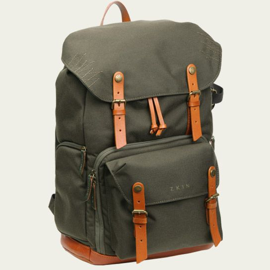 Cool camera backpack by ZKIN