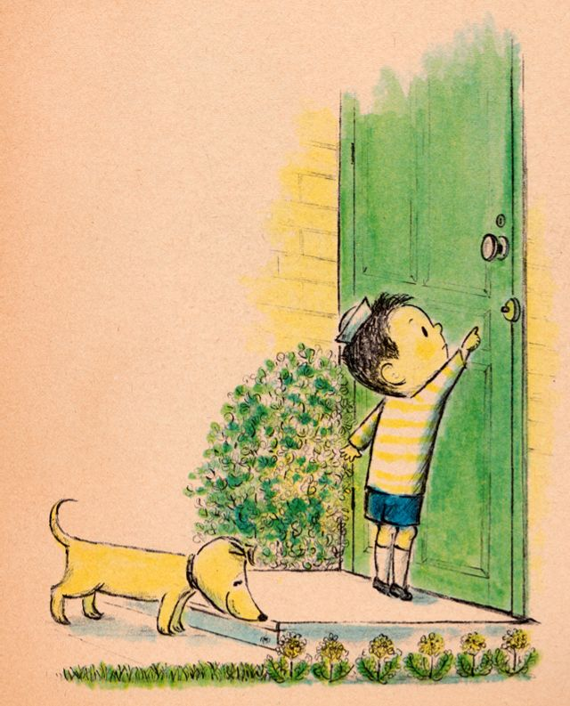 The Plant Sitter - written by Gene Zion, illustrated by Margaret Bloy Graham (1959).