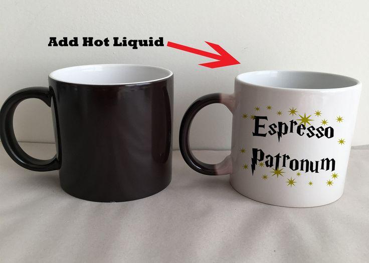 Espresso Patronum Magical Morphing Harry Potter Coffee Mug